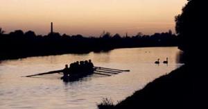 sunset-row